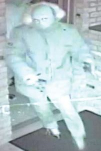 Suspect du vol par effraction d'un GAB survenu au restaurant Five Bridges Neigborhood Bar and Grill du chemin Pine Glen, à Riverview, le 4 janvier 2015, un peu avant 4 h.