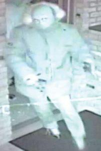 Suspect du vol par effraction d'un GAB survenu au restaurant Five Bridges Neigborhood Bar and Grill du chemin Pine Glen, à Riverview, le 4 janvier 2015, un peu avant 4 h.